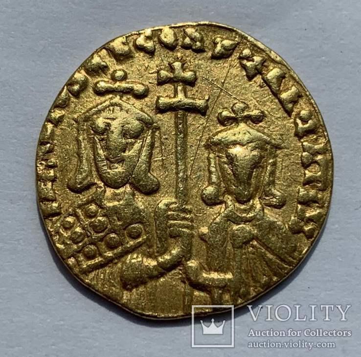 Солид 867-886гг. Василий I