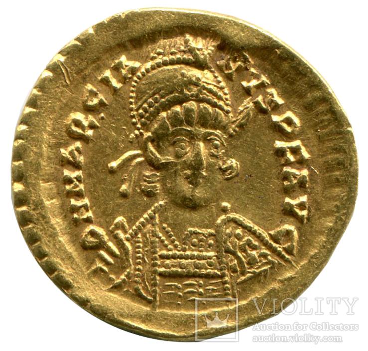 Солид 450-457гг Марциан