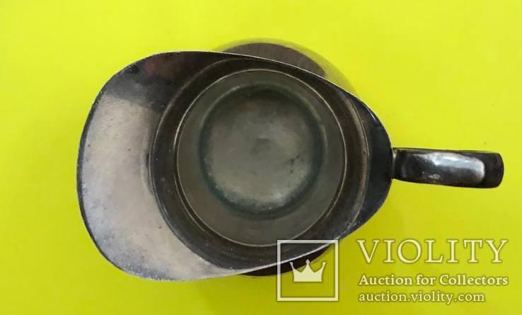 Сливочник Срібло 800 проба. 42,57 грам., фото №4