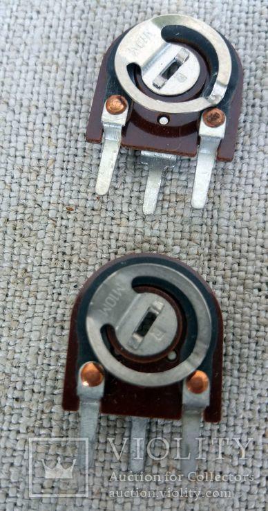 Сопротивления подстроечные СП3-38 набор 12 шт, фото №3