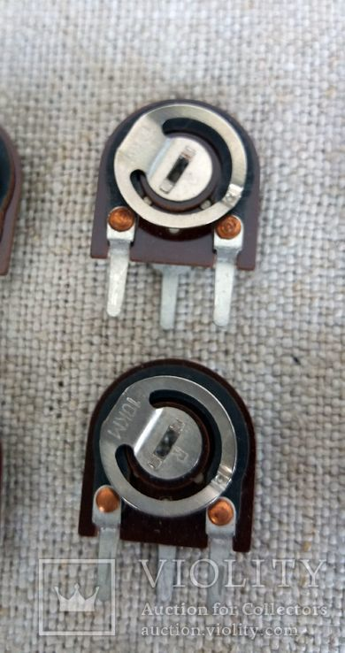 Сопротивления подстроечные СП3-38 набор 12 шт, фото №4