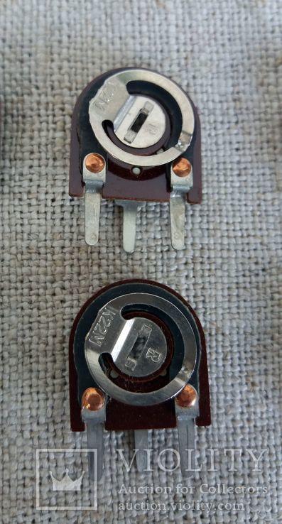 Сопротивления подстроечные СП3-38 набор 12 шт, фото №7