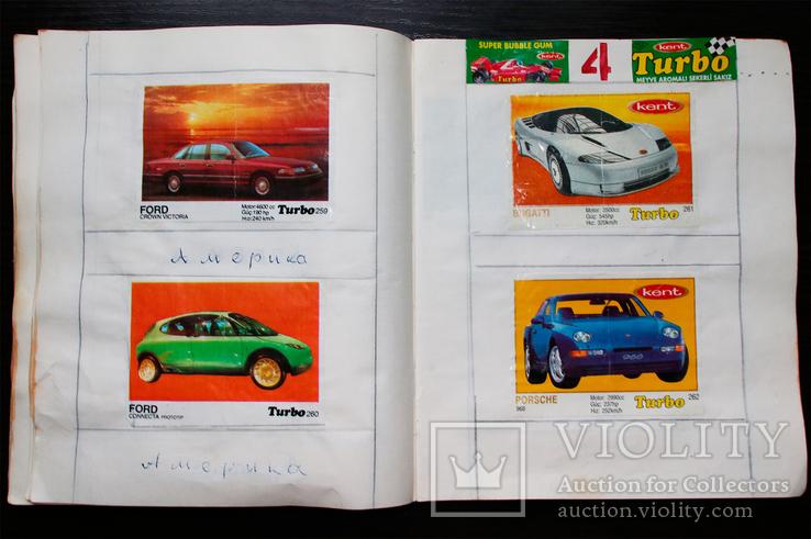 4 полных коллекции вкладышей Турбо (Turbo) с 51 по 330., фото №9