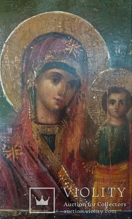 Казанская б.м с предстоящими, фото №3