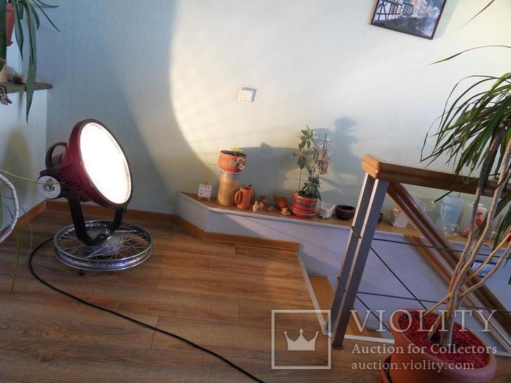 Дизайнерский прожектор, Лофт освещение, Рокер декор,индустриальный стиль, фото №2