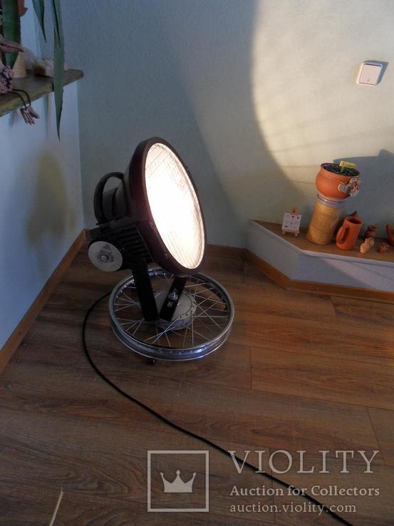 Дизайнерский прожектор, Лофт освещение, Рокер декор,индустриальный стиль, фото №8