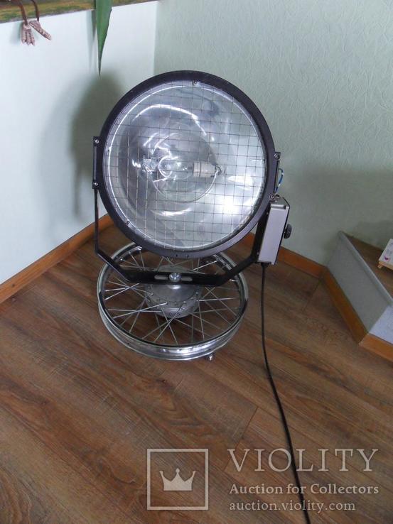 Дизайнерский прожектор, Лофт освещение, Рокер декор,индустриальный стиль, фото №9