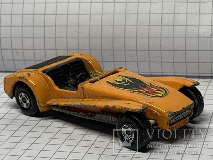 Matchbox Superfast No 80 Lotus Super Seven 1971 Lesney Made in England, фото №7