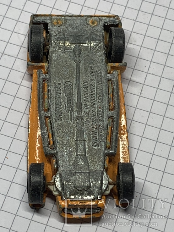 Matchbox Superfast No 80 Lotus Super Seven 1971 Lesney Made in England, фото №8