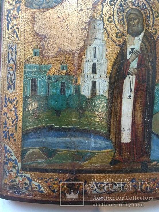 Икона Святой Серафим Саровский, фото №5