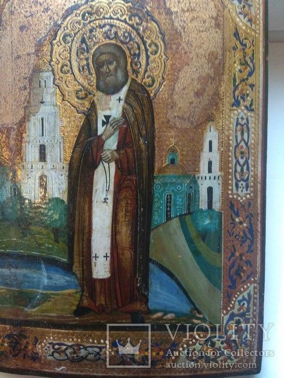 Икона Святой Серафим Саровский, фото №6