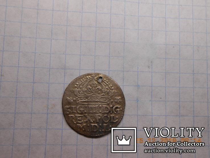 Грош коронный 1613, фото №5