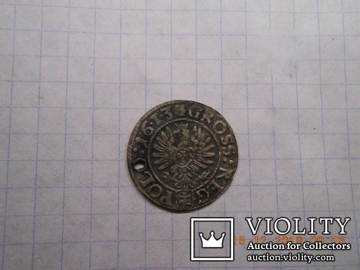 Грош коронный 1613, фото №6