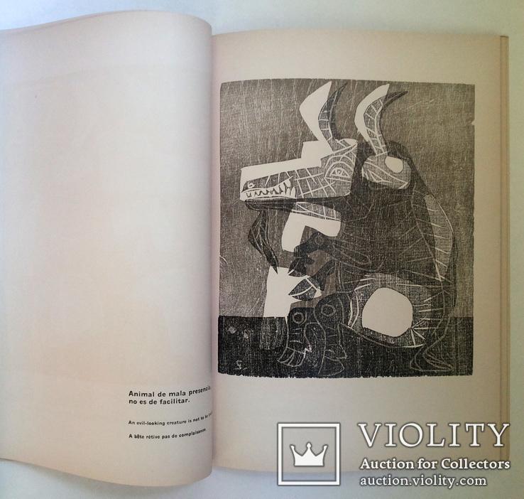 Луис Сеоане альбом 32 цветные ксилографии тир 500 экз 1965, фото №2