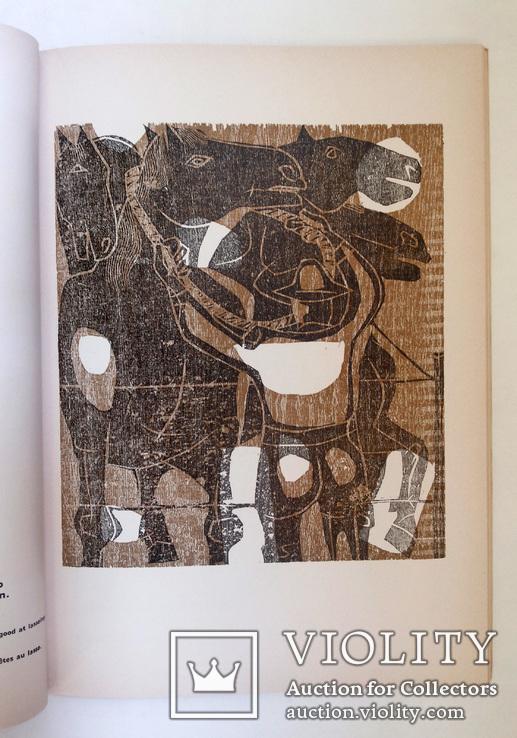 Луис Сеоане альбом 32 цветные ксилографии тир 500 экз 1965, фото №8