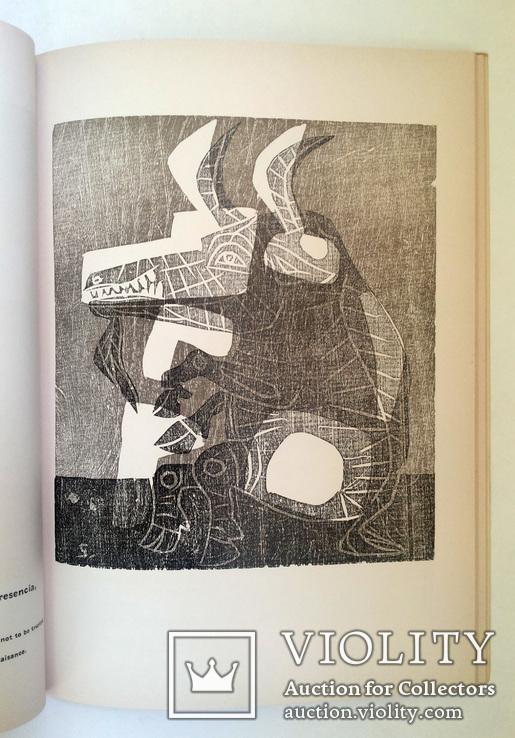 Луис Сеоане альбом 32 цветные ксилографии тир 500 экз 1965, фото №10