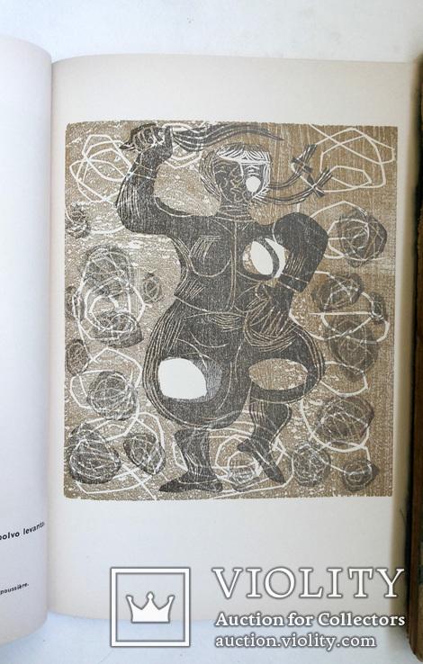 Луис Сеоане альбом 32 цветные ксилографии тир 500 экз 1965, фото №13