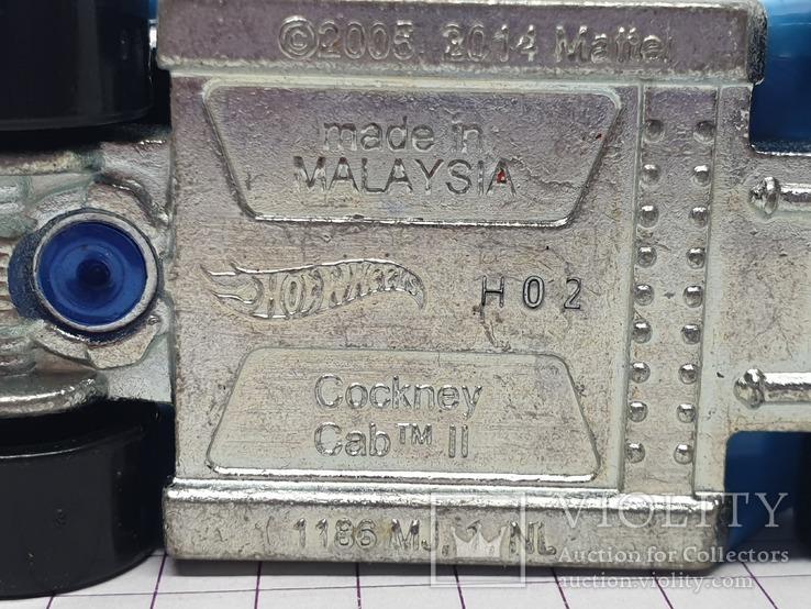 HOT WHEELS Cockney Cab II (c), фото №9