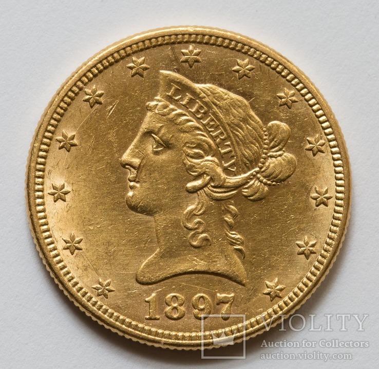 10 доларів 1897