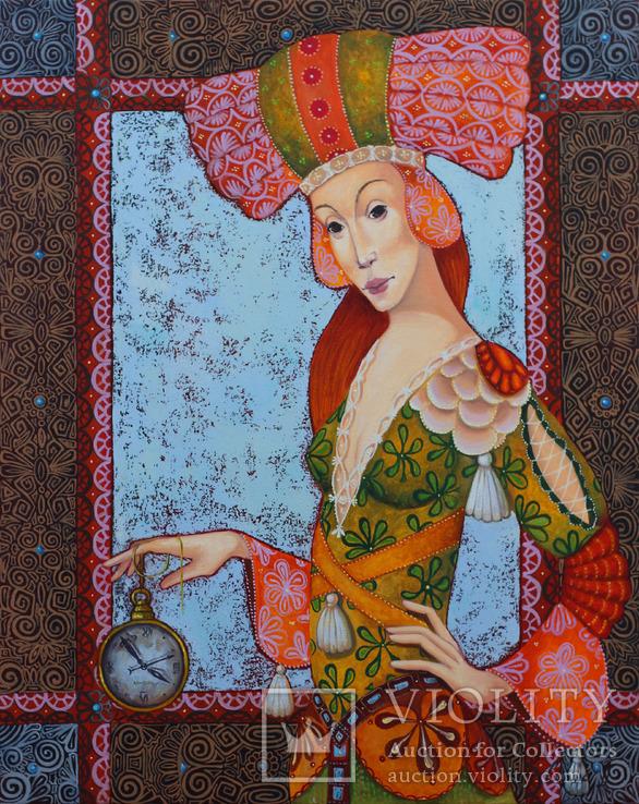 Картина 50х40 Тайна масло/холст