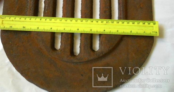 Решетка чугунная., фото №6