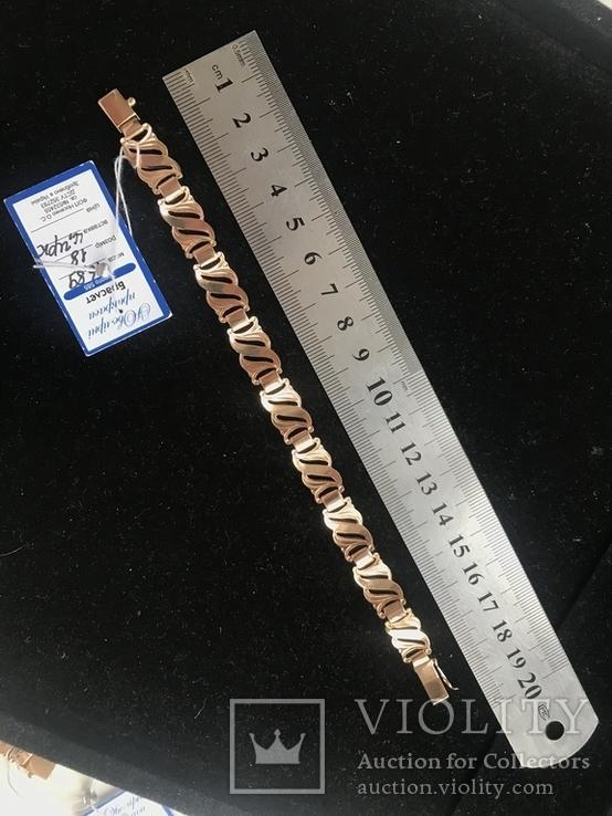 Колье и браслет , золото, фото №7