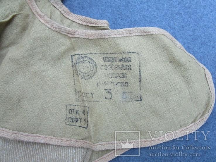 Армейский подшлемник ХБ  (новый), фото №5