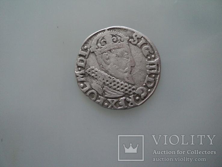 Трояк 1622 г, фото №3