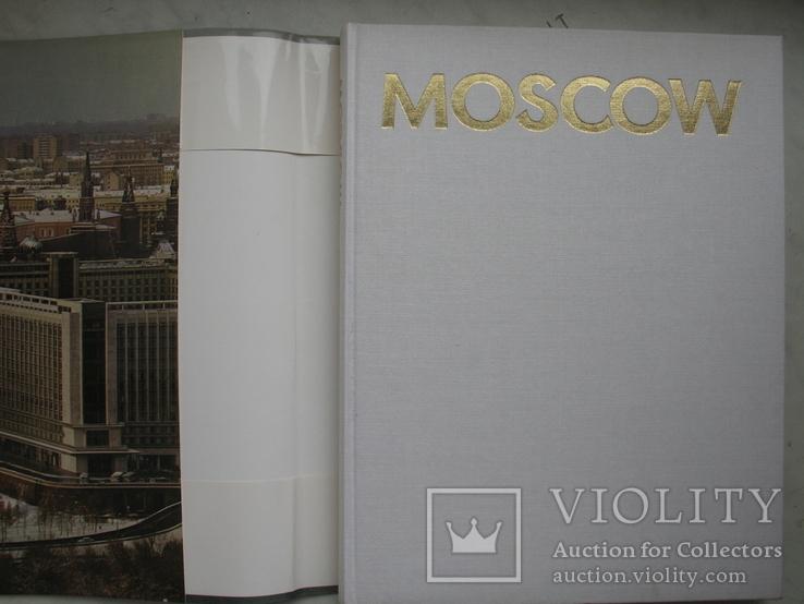 """Moscow"" фотоальбом 1975 год, футляр (на английском языке), фото №3"