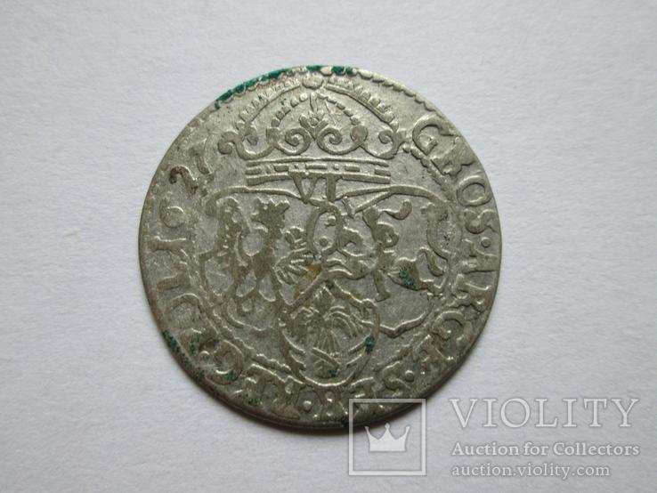 Шостак 1627года Сигизмунд III Ваза №13, фото №3