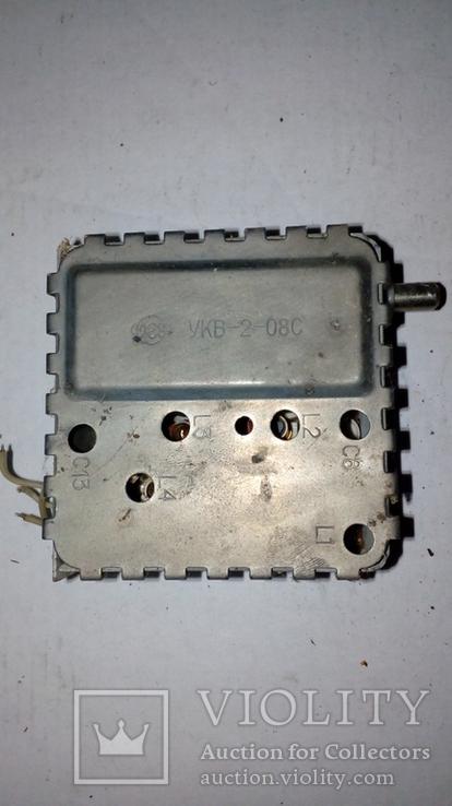 Детали СССР .Блок УКВ. Подстроечный конденсатор на плате, фото №2