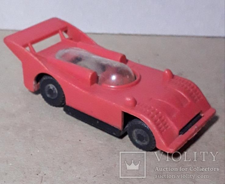 Машинка гонка из СССР длина 9,5 см., фото №2