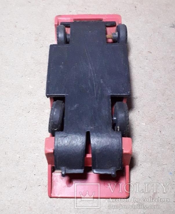 Машинка гонка из СССР длина 9,5 см., фото №5
