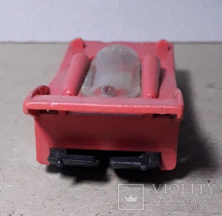 Машинка гонка из СССР длина 9,5 см., фото №6