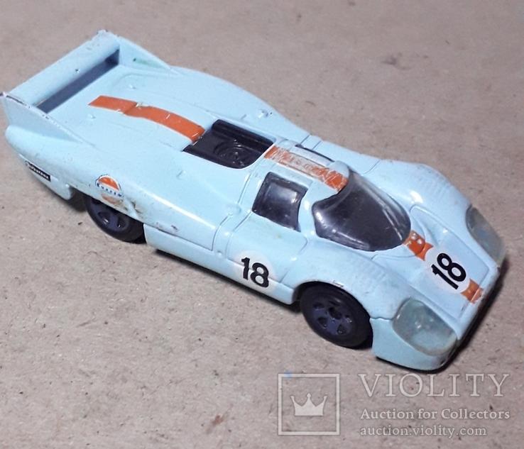 Машинка гонка Малазия Porsche 917 LH длина 8 см., фото №4