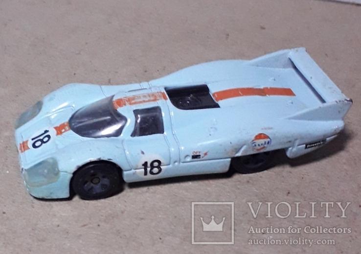 Машинка гонка Малазия Porsche 917 LH длина 8 см., фото №5