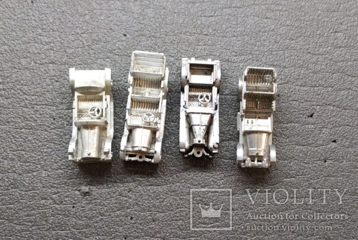 4 машинки брелка, фото №2