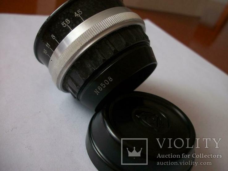 Семь объективов [нов] для фотоувеличителей [футляры-5-штук и крышки], фото №7