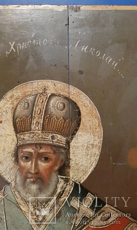 """Икона """"Святитель Христов Николай"""", фото №11"""
