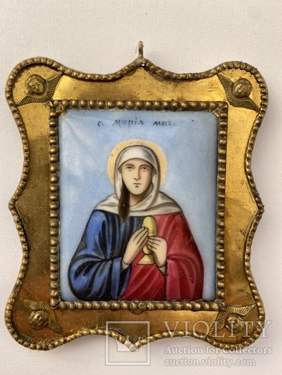 Финифть св. Мария