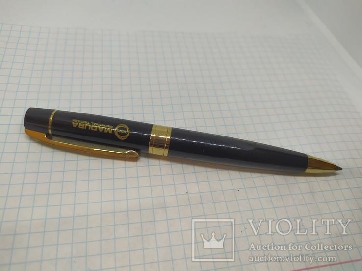 Шариковая ручка. Тяжеленькая. Длина 137мм, фото №2