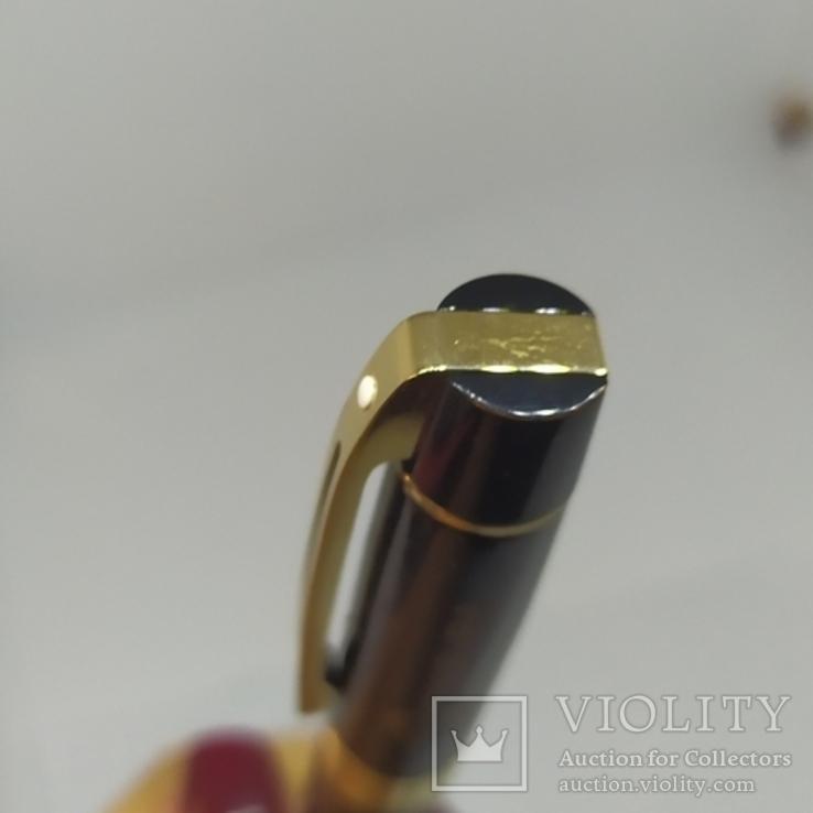 Шариковая ручка. Тяжеленькая. Длина 137мм, фото №7