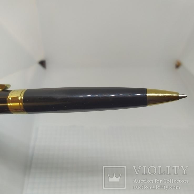 Шариковая ручка. Тяжеленькая. Длина 137мм, фото №9