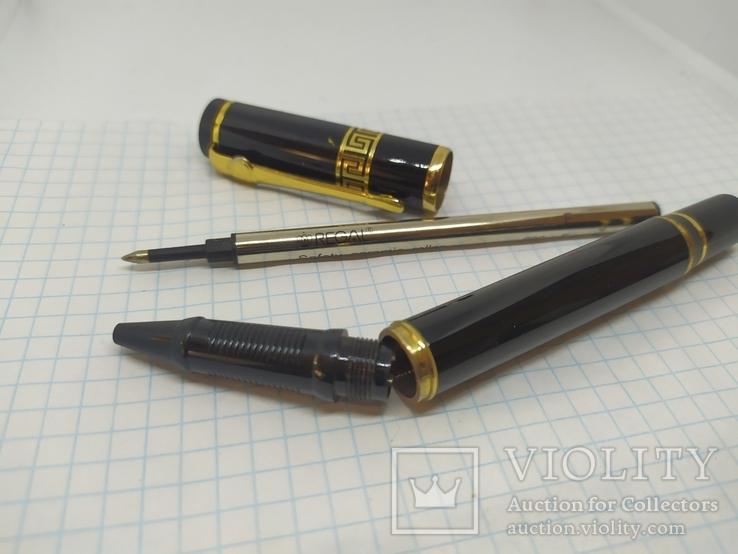 Шариковая ручка. Тяжеленькая. Длина 135мм, фото №9