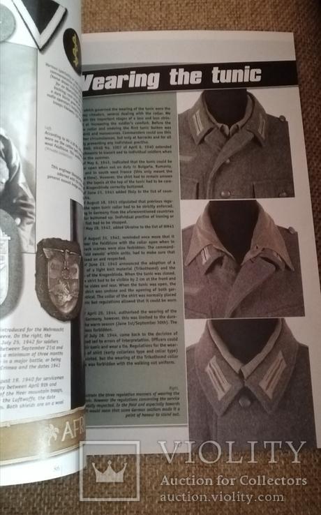 Полевые мундиры немецкой армии 1933-1945. Формат А5., фото №5