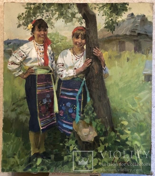 Аркадий Сорока «Подружки» 80х70