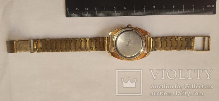 Часы wostok AU5,17 камней, браслет-позолота, фото №3