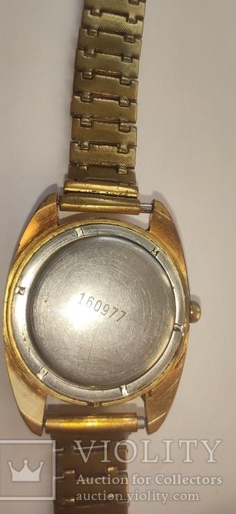 Часы wostok AU5,17 камней, браслет-позолота, фото №6