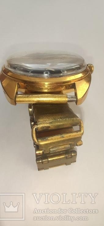 Часы wostok AU5,17 камней, браслет-позолота, фото №10