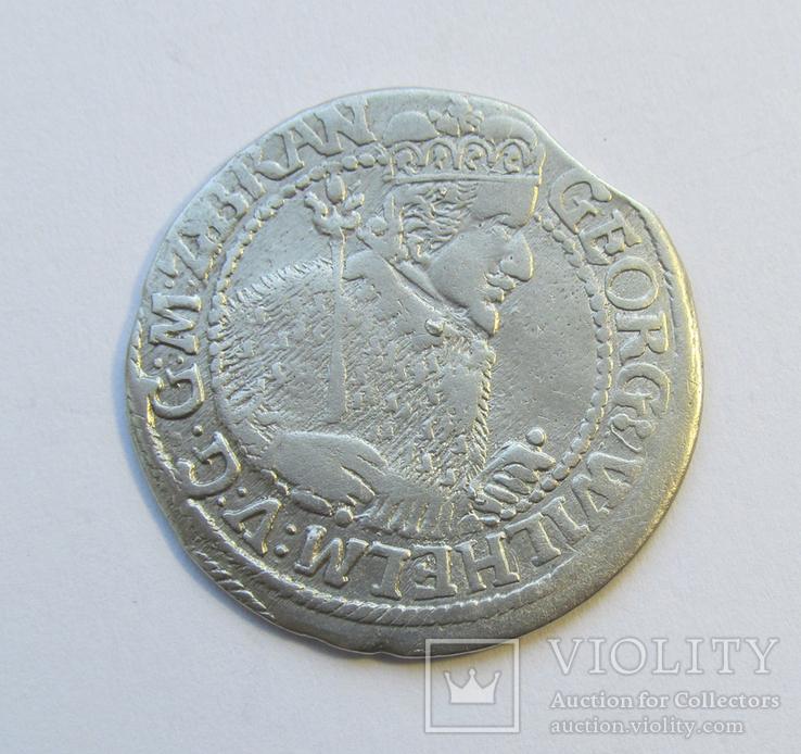 Орт 1623 Георг Вильгельм Пруссия, г. Бранденбург